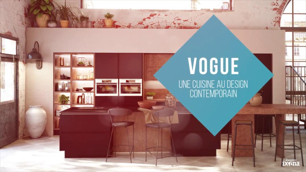 Gamme Vogue La Cuisine Aménagée Au Design Industriel