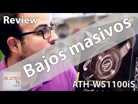 ATH-WS1100IS SOLID BASS. LOS MEJORES BAJOS. REVIEW