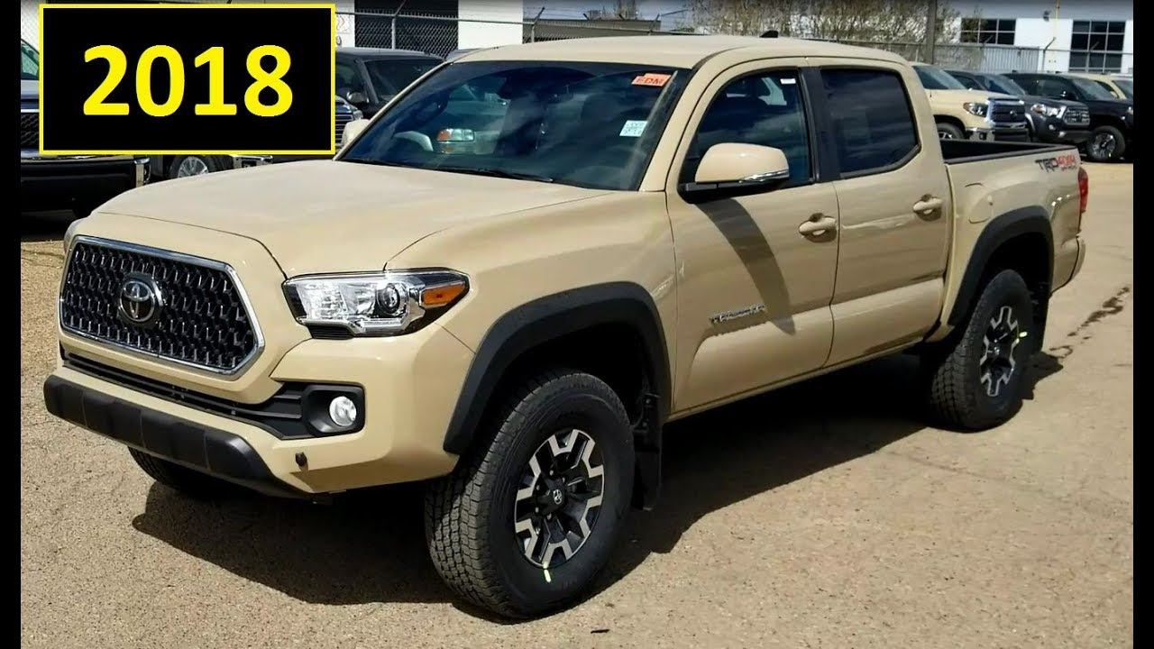 Toyota Tacoma 2018 Trd Off Road Double Cab In Quicksand Review Of Features