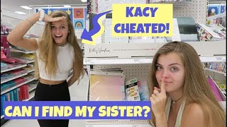 Can I Find My Sister Challenge ~ Kacy Cheated ~ Jacy and Kacy