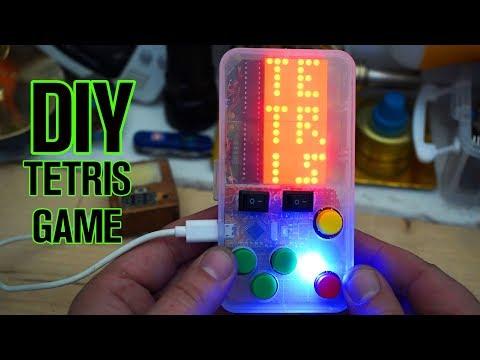 Arduino TETRIS Game  DIY