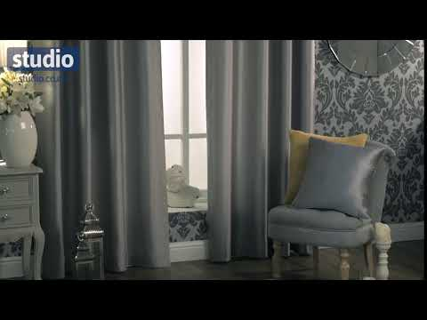 Studio - Faux Silk Lined Curtains
