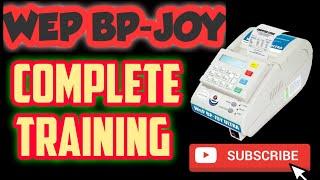 WEP BP - JOY BILLING MACHINE COMPLETE TRAINING VIDEO