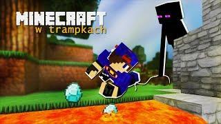 Minecraft w Trampkach #4: Szklany Dach, Mapa Skarbów i....ZABŁĄDZIŁEM!