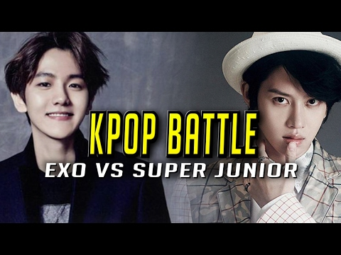 KPOP Stars Play League: SUPER JUNIOR (HEE CHUL) VS EXO (BAEK HYUN) Highlights (Translated)