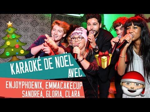 KARAOKE DE NOËL avec ENJOYPHOENIX, EMMA, SANDREA, GLORIA, CLARA, GASPARD G, YOKO, PERFECT HONESTY...