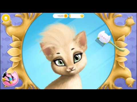 Fun Baby Kitten Care   Learn Colors Kids Games Makeup Dress Up Cat Hair Salon Birthday Party