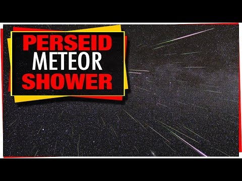 Astronomy: Tonight's Sky August 2018 – Perseid Meteor Shower