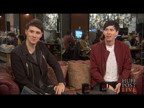 full dan + phil huffington post interview