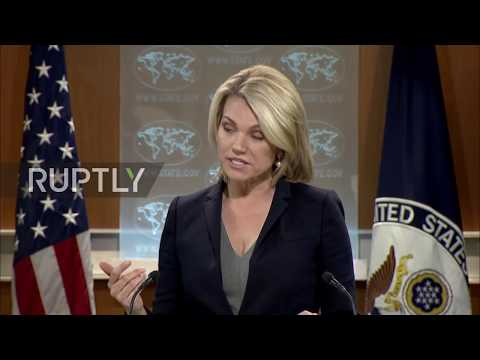 USA: Nauert struggles through first press briefing as State Dep. Spokesperson