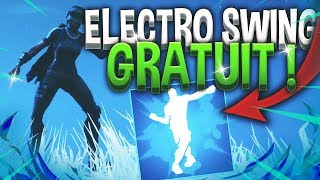 "SEE the DANCE ""ELECTRO SWING"" FOR FREE on Fortnite..."