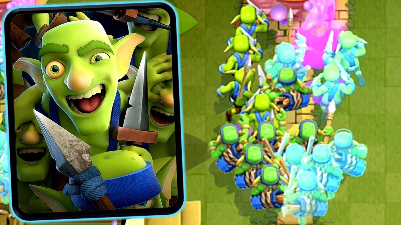 Clash Royale - GOBLIN GANG! New Common Card