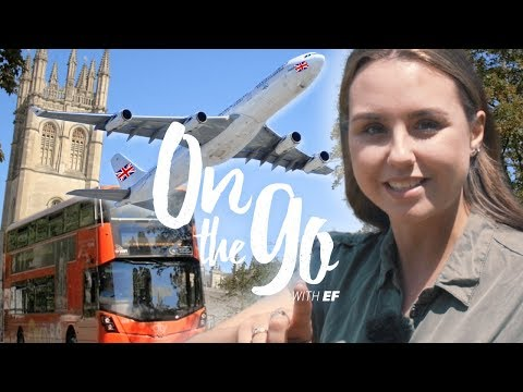 Angelina travels to Oxford  –  On the go with EF #83