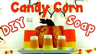 DIY Crafts: How To Make Candy Corn DIY Soap 2 Ways