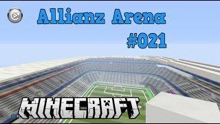 Minecraft Allianz Arena Bauvorlage #21*[HD] Auf dem Dach