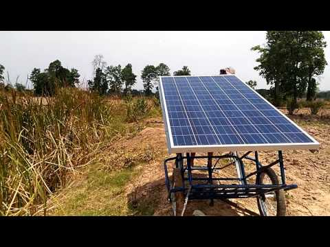 Solar dirct power direct drive water pump