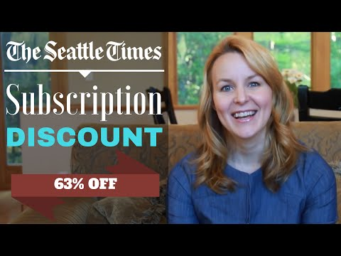 Seattle Times Subscription Discount Savings Tips