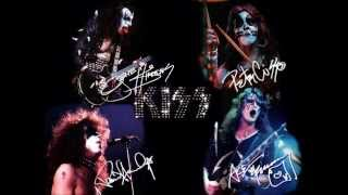 Kiss I was made for loving you instrumental