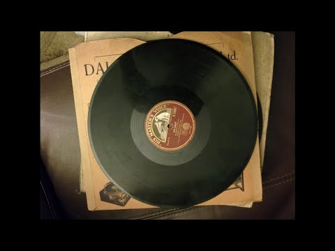 Norman Allin - the people that walked in darkness (Händel) (columbia l1446) (1922)