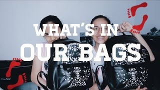 WHAT'S IN OUR BAGS(ADA PAYUNG?)