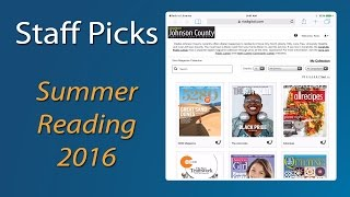 Staff Picks - Summer Reading!