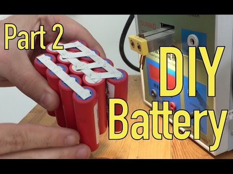 DIY Lithium Battery - Spot Welding - Part 2/5
