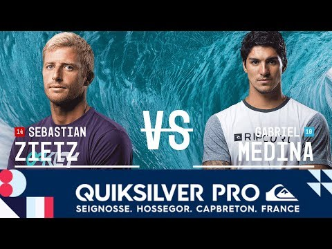 Sebastian Zietz vs. Gabriel Medina - FINAL - Quiksilver Pro France 2017