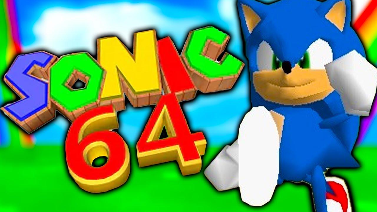Mario 64, but I'm actually Sonic