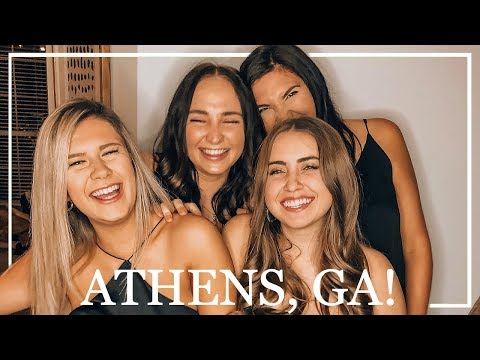 Weekend in my Life: Athens, GA! Visiting Danielle at UGA, Fall Festivities, + more!
