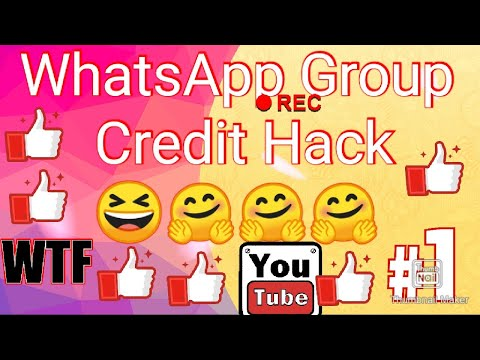 Whatsapp group credit  hack