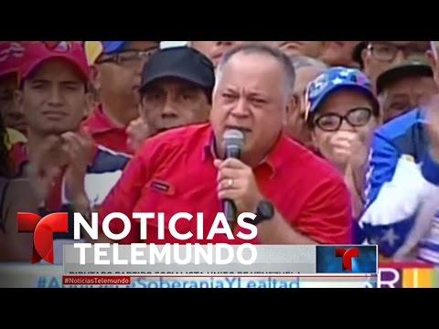 Caracas: Campo de batalla entre opositores, policía y oficialistas | Noticiero | Noticias Telemundo
