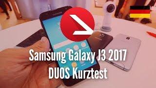 Günstigste Samsung Smartphone 2017 | Samsung Galaxy J3 2017 DUOS Kurztest