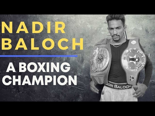 Meet The Boxing Champion From Lyrai, Pakistan