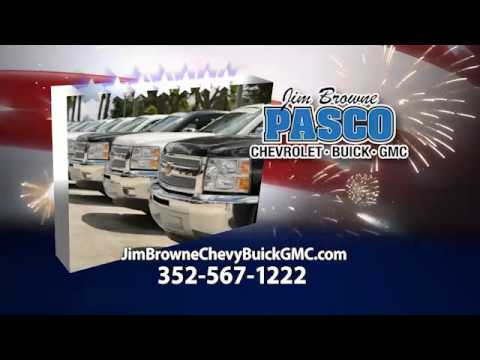 Jim Browne Pasco Chevy Buick GMC 4th of July Advertisement