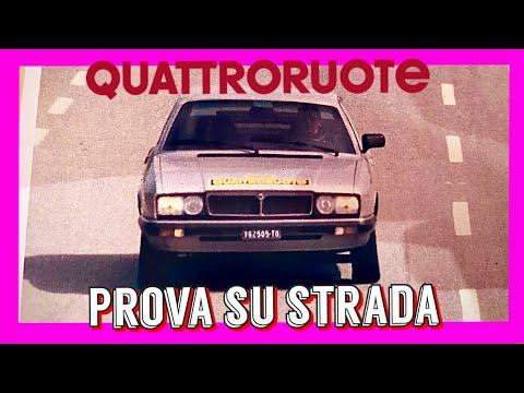 06/1981: LANCIA GAMMA 2.5 I.E (QUATTRORUOTE, Prova Su Strada)