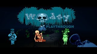 Woodsy - Playthrough (Pixel Art Style Horror Game)