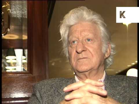 1996 Interview John Pertwee Dr Who, 1990s