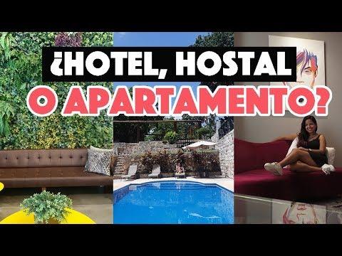 ¿Hotel, hostal o apartamento? ¿Qué es mejor?