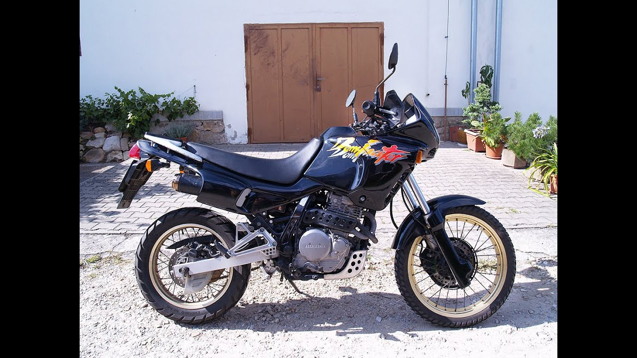 honda nx 650 dominator 1997 youtube. Black Bedroom Furniture Sets. Home Design Ideas