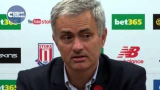 STOKE 1(5)-1(4) CHELSEA Jose Mourinho Post Match Press Conference