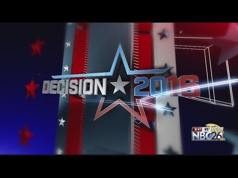 NBC26 Today Decision 2016 Donald Trump Campaign Stop