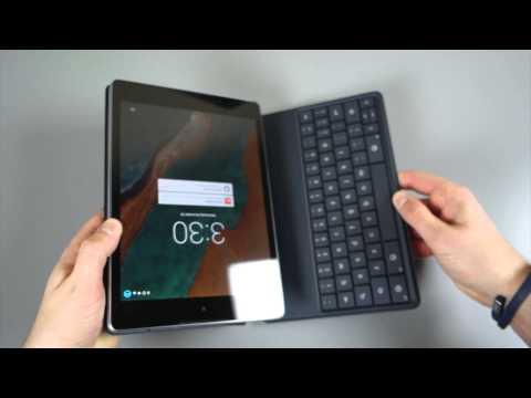 Nexus 9 Keyboard Folio Initial Review
