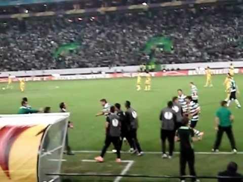 Sporting Clube de Portugal Vs Metalist 29-03-2012 UEFA (Insua Goal)
