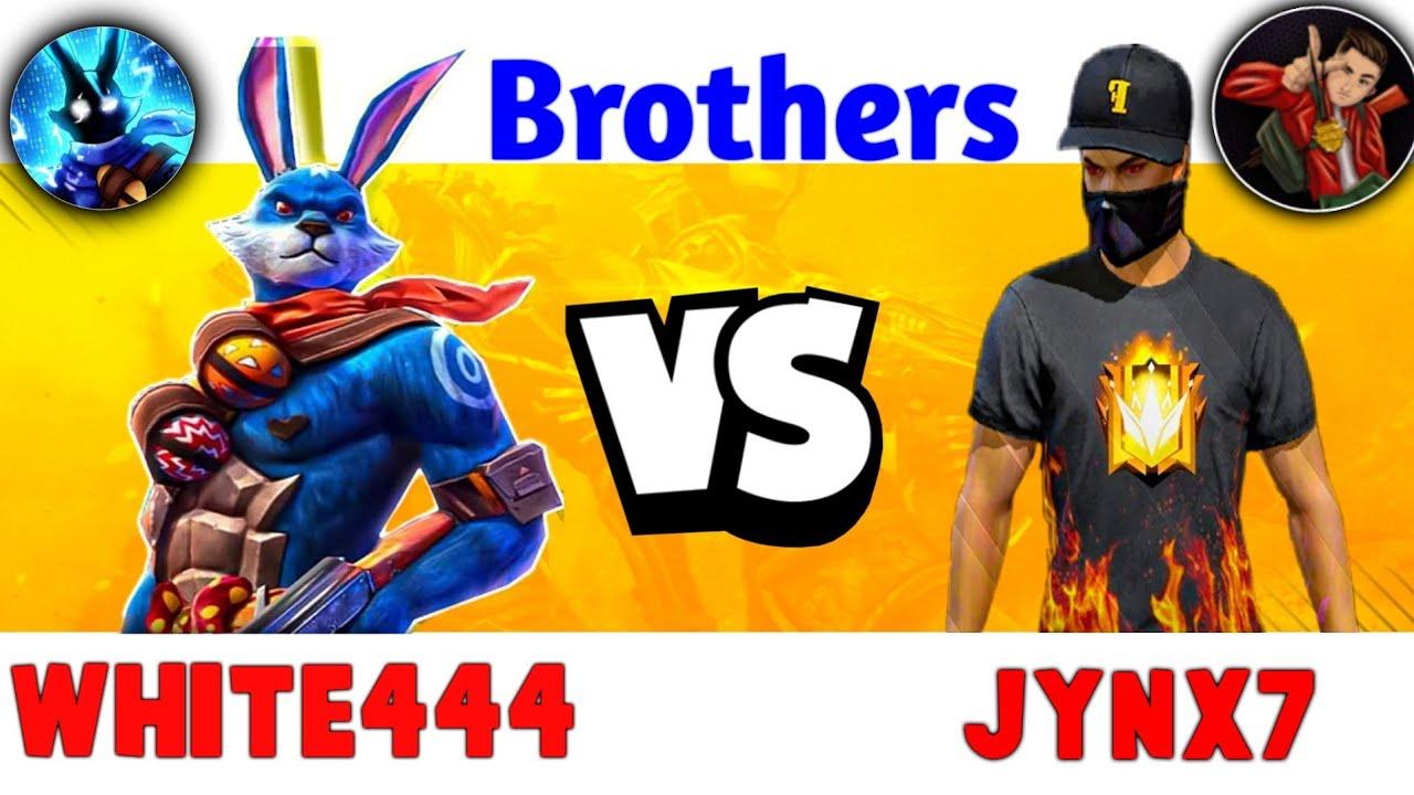 WHITE444 VS JYNX7 - Clash Squad Battle B/W To Brothers -Garena Free Fire