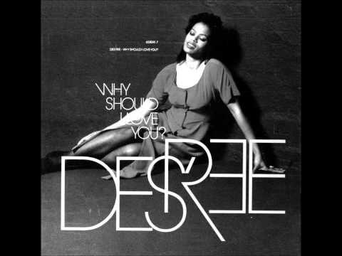 Des'ree -Why should I Love You??