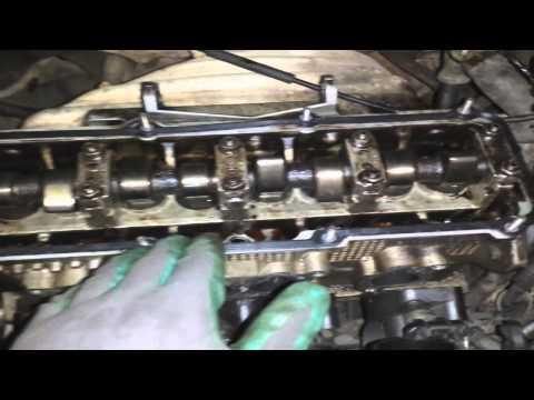 Golf 1.6 Troca das velas, conserto carter, vazamento tampa de válvulas