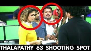Thalapathy 63 Shooting Spot : Vijay Mobbed by Fans Viral Video | Atlee Movie | Hot Tamil Cinema News