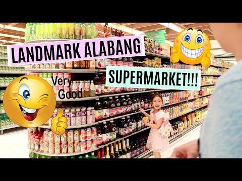 GROCERY VLOG: LANDMARK ALABANG SUPERMARKET!!! - MichelleFamilyDiary