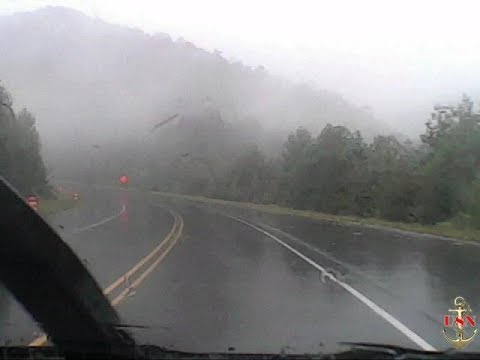 Come along on a Foggy, Rainy Road trip to Franklin NC.