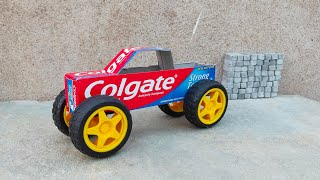 How To Make Colgate Truck At Home